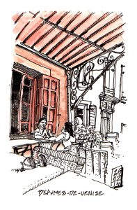 Beaumes de Venise: french lesson at the bistro