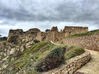 Castell de Sant Esteve near La Fosca