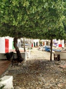 Barracks at cala s'Alguier