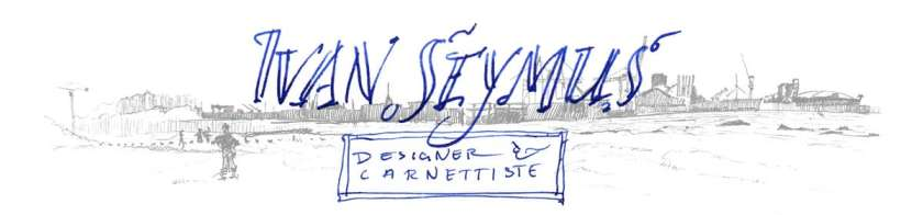 Ivan Seymus, Designer - carnettiste