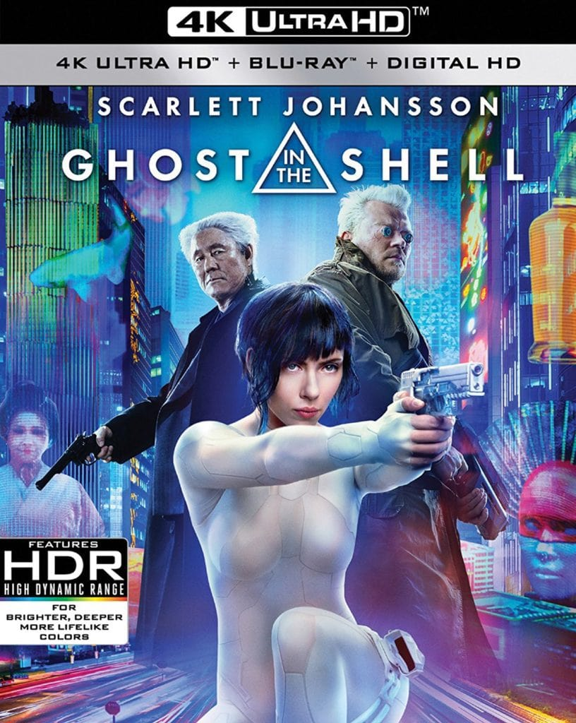 Ghost in the Shell 4K Ultra HD Blu-ray