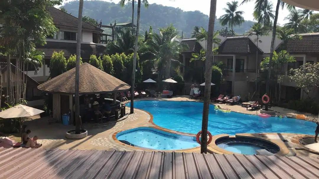 Coconut Village Resort Swimming Pool Patong