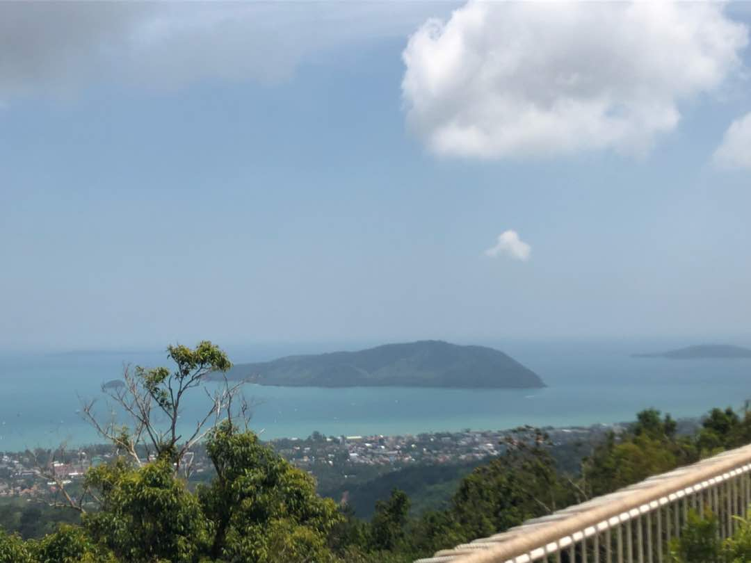 Phuket Hill Top View