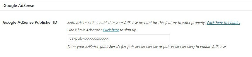 Genesis Framework Adsense