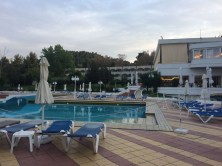 Another view of the pool at Pallini Beach Hotel