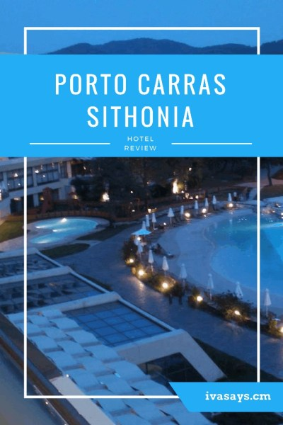 The famous Porto Carras Sithonia hotel complex in Greece (Chalkidiki).