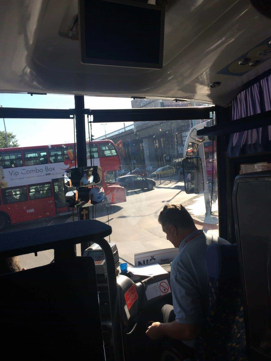 Macedonia to Serbia by Bus