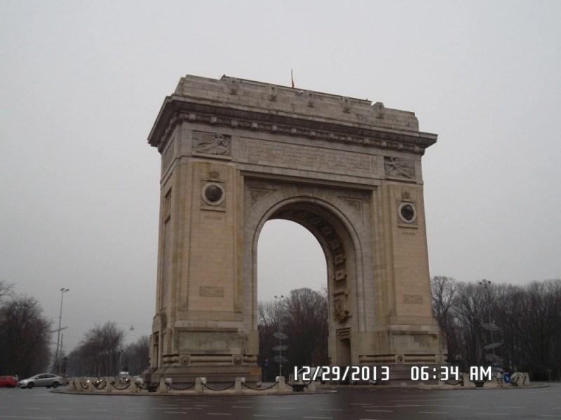 Arcul-de-Triumf in Bucharest, Romania