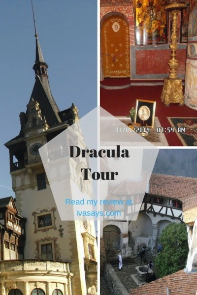 The famous Dracula tour in Transylvania, Romania
