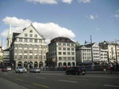 Schifflände in Zurich, Switzerland