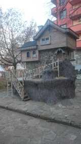 Wooden House of Baba Yaga in Sandanski, Bulgaria