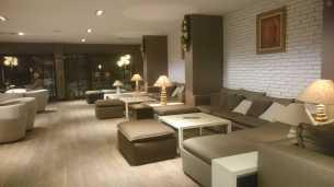 The lounge in the Interhotel Sandanski in Sandanski, Bulgaria