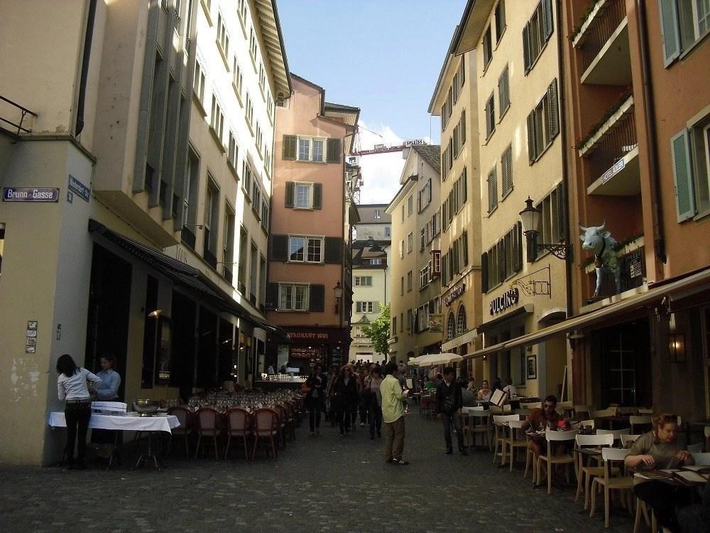 Restaurants in Zurich, Switzerland