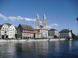 The Town Hall in Zurich, Switzerland