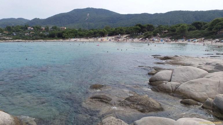 Beaches in Sithonia, Greece - Karydi Beach