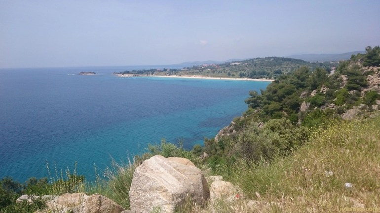 Beaches in Sithonia, Greece - Porto Carras