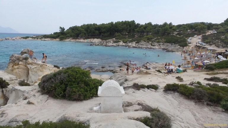 Beaches in Sithonia, Greece - Portokali Beach