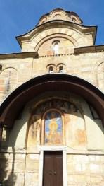 Frescoes on Marko's Monastery