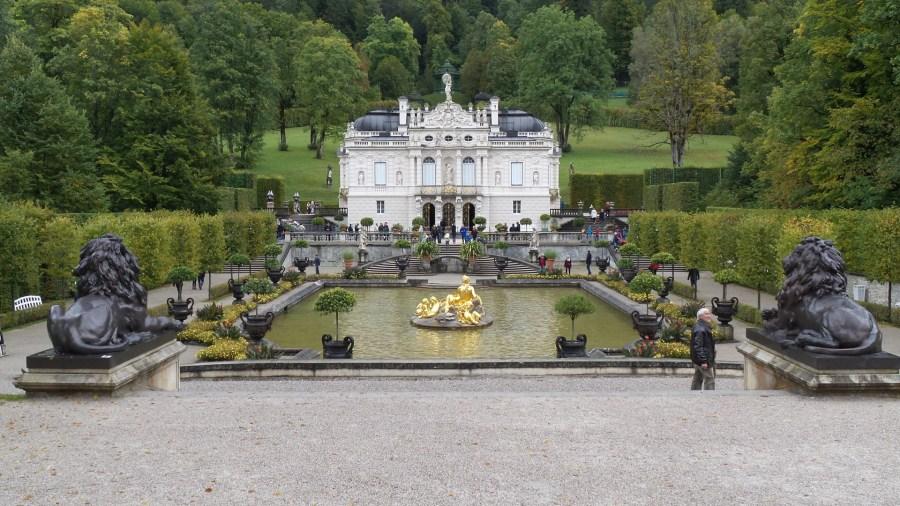 The German Castle Linderhof