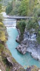 The Fussen Waterfalls in Fussen, Germany