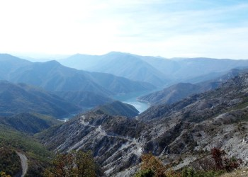 Viewpoint at Kozjak Macedonia