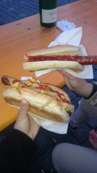 Tasty Germany: Wurst sandwiches at the Altstadt Festival in Nuremberg