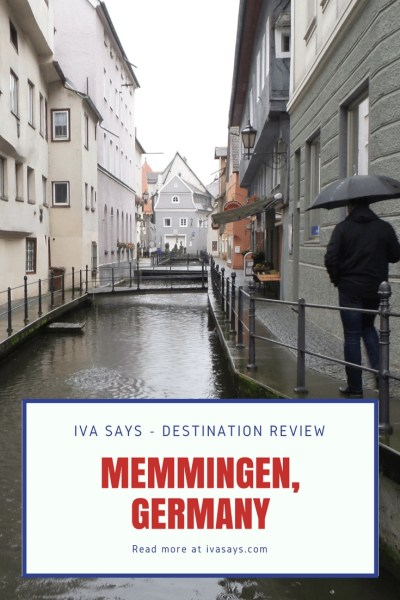 Pinterest pin for Destination Review Memmingen, Germany