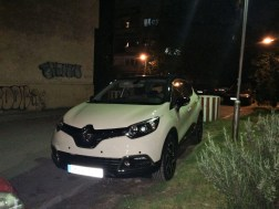 Front of the Captur Renault