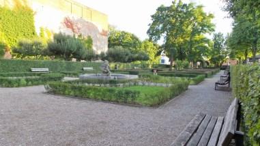 Hesperidengärten in Nuremberg Germany