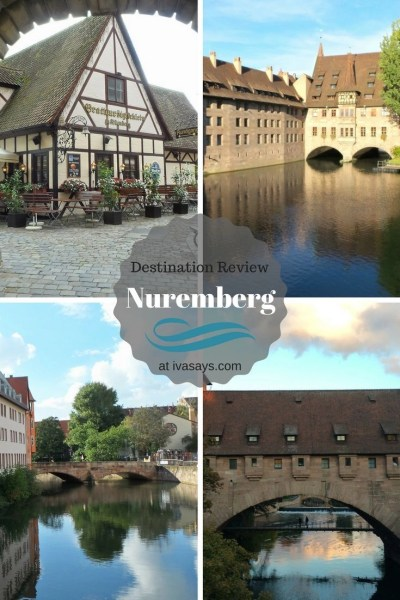 Nuremberg is a quite charming and small town in Bavaria, Germany that lets visitors experience authentic German life, food, and culture - Iva Says