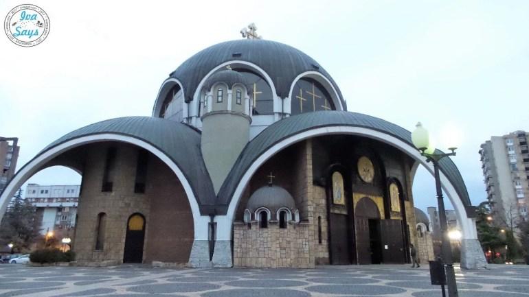 Orthodox Church St. Clement of Ohrid in Skopje, Macedonia
