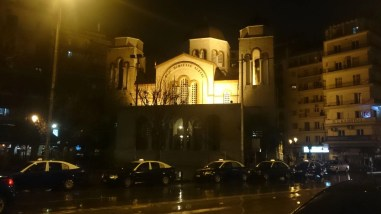 Panagias Dexias Church in Thessaloniki, Greece