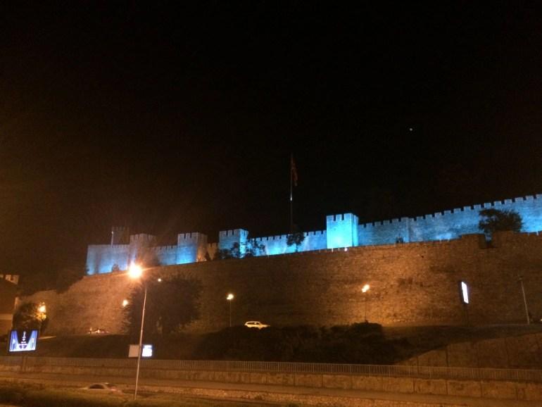 Kale Fortress at Night