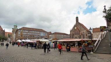 The Altstadt in Nuremberg, Germany