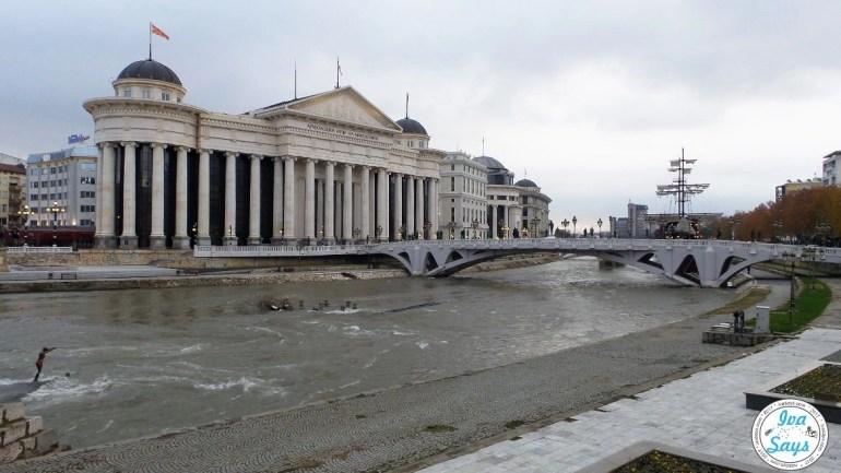 The Art Bridge Skopje 2014 Macedonia