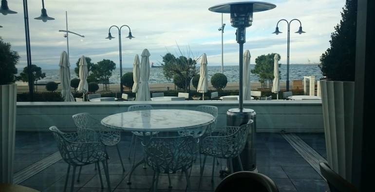 View from Hotel Makedonia Palace