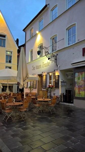Zur blauen Traube restaurant in Memminge, Germany
