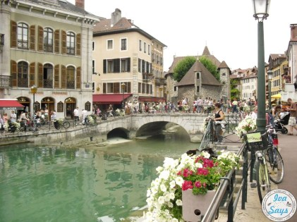 Palais de l'Isle and Thiou River in Annecy