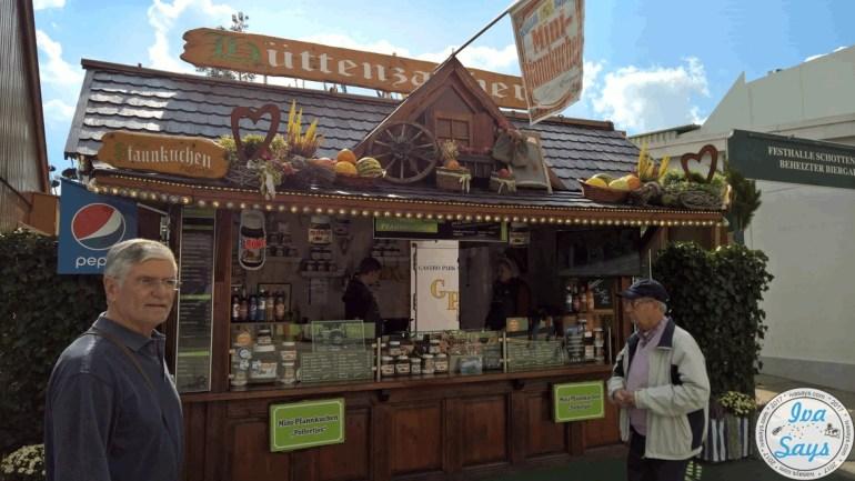 Pancakes at Oktoberfest Munich 2017
