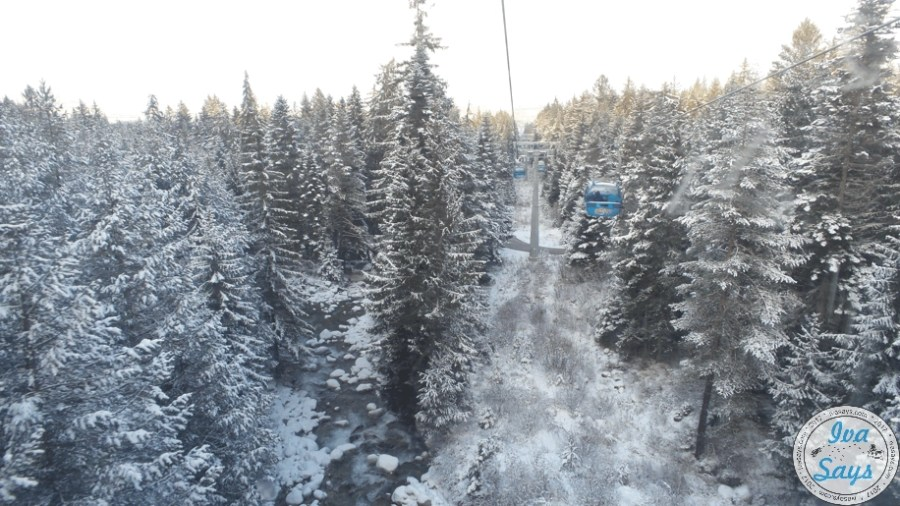 Gondola Ski at Bansko, Bulgaria