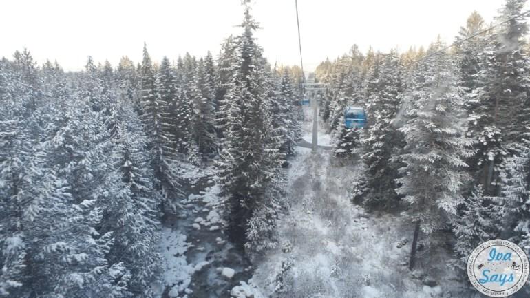 Gondola Ski at Bansko, Bulgaria