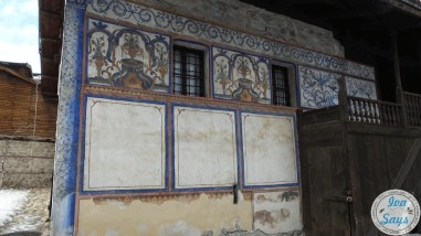 The first painted house in Bansko, the house of Valyanova