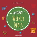 Weekly Deals on Travel Products from Iva Says