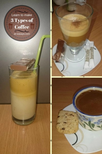 How to Make Three Different Types of Coffee (Instructions with Pictures) - Iva Says