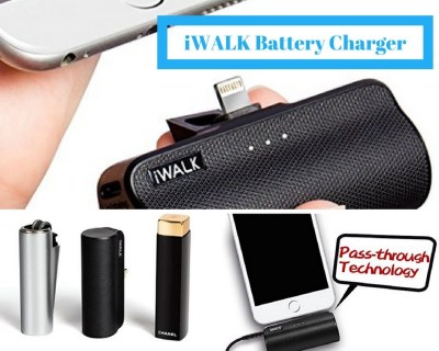 iWALK Battery Charger Portable Power Bank from Amazon.com