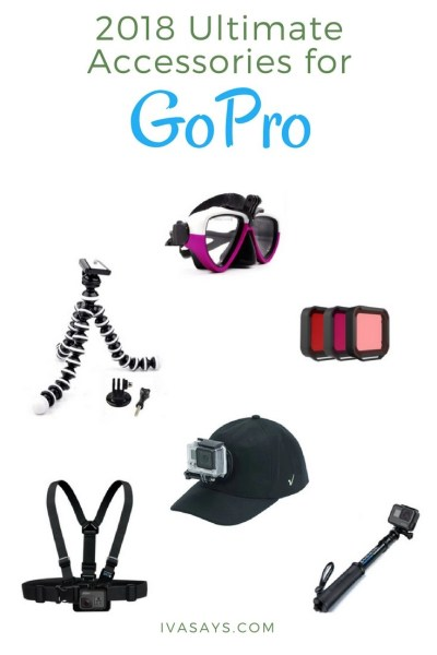 Ultimate 2018 GoPro accessories.