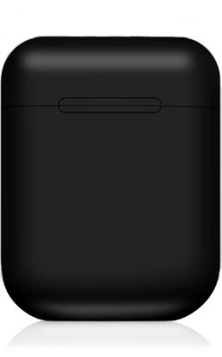 Black Wireless Bluetooth Headphones in Charge Case