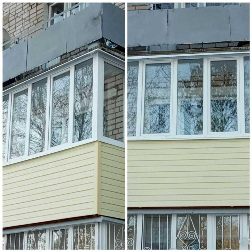 Наши работы Остекление балконов и лоджий с отделкой в Иваново
