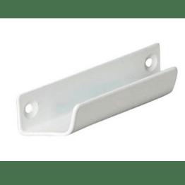 Ручка балконная  металл.(фальш-ручка) белая
