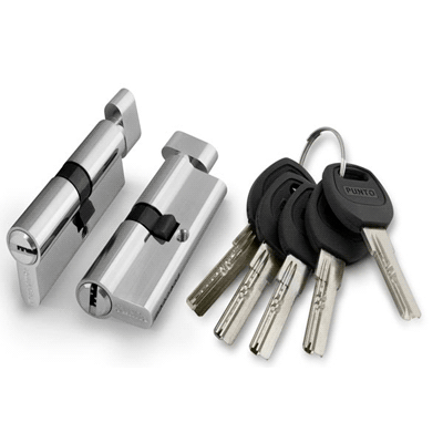 Цилиндр  PUNTO ключ/вертушка A202/60 mm